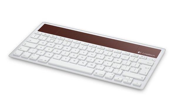 Neue Bluetooth-Tastatur für Mac, iPhone und iPad: Logitech Wireless Solar Keyboard K760