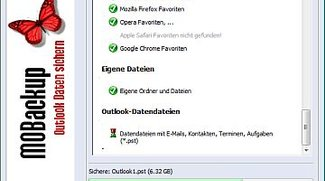 MOBackup - Outlook Backup Software