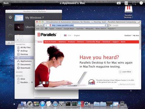Parallels Mobile: Update bringt Unterstützung für iPad-Retina-Display