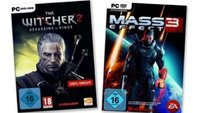 Mass Effect 3 für 21,49 Euro - The Witcher 2 für 19,99 Euro
