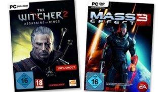 Mass Effect 3 für 21,49 Euro - The Witcher 2 für 19,99 Euro