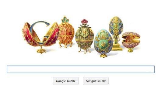 Peter Carl Fabergé: Was das Google Doodle mit James Bond zu tun hat