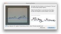 Tipp für OS X Lion: Unterschriften in Vorschau (PDF) erstellen