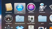 Icon-Hervorhebung im Stapel: Mac-Tipp