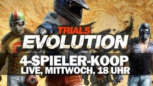 LIVE Gameplay - 4-Spieler-Chaos mit Trials Evolution!