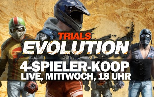 LIVE Gameplay - 4-Spieler-Chaos mit Trials Evolution!