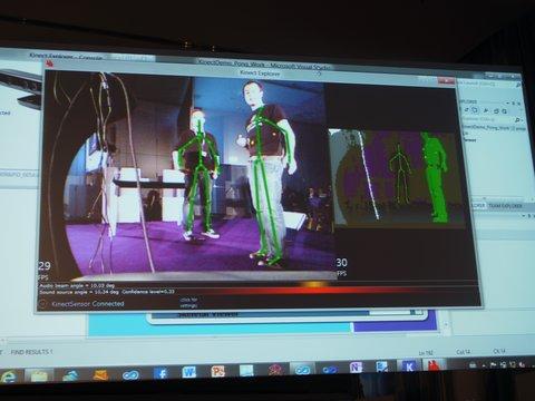 Microsoft Kinect-Steuerung
