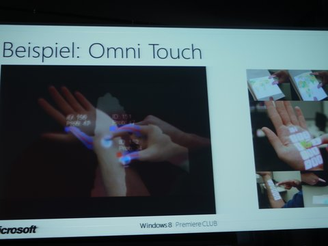 Microsoft Research Omni Touch