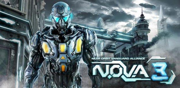 N.O.V.A. 3 - Near Orbit Alliance Vanguard für Android erschienen