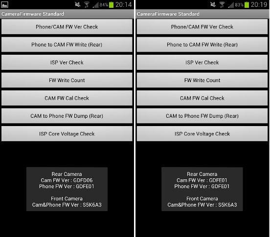 Samsung Galaxy S3 mit Update der Kamera-Firmware