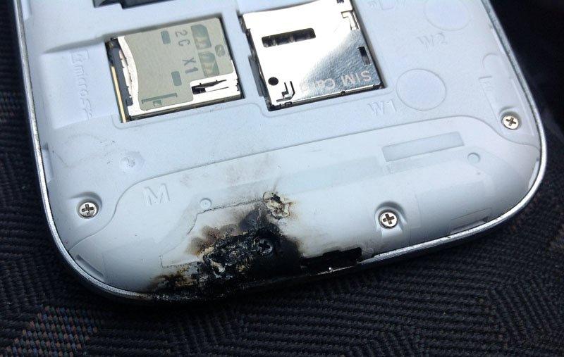 Samsung Galaxy S3 explodiert in KFZ-Halterung