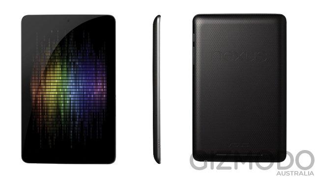 Nexus 7: Spezifikationen und Bild aufgetaucht