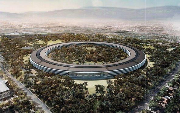 Steve Jobs' UFO-Campus verzögert sich bis 2016