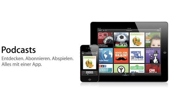 Podcasts für iOS: Hinweis auf nahendes Update (Neue Version verfügbar)