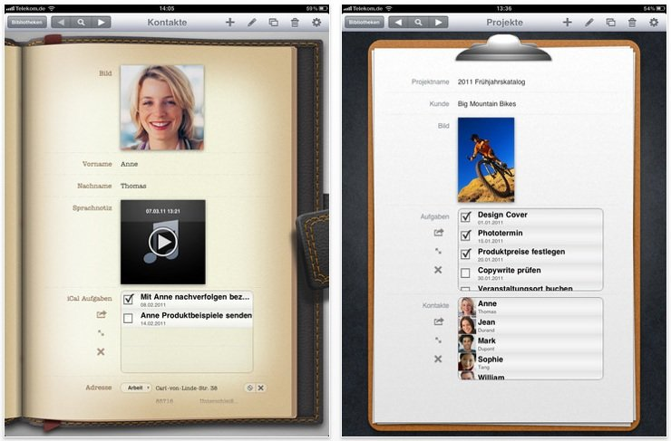 Bento 4 für iPad: neue Werkzeuge, Retina-Vorlagen und überarbeitete Darstellung