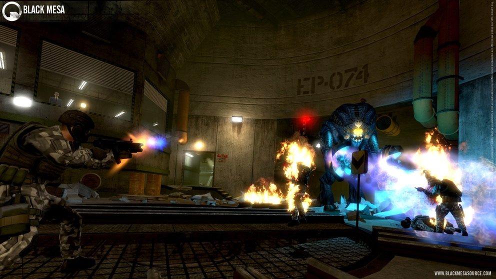 Black Mesa: Neue Screenshots zum Half-Life Remake