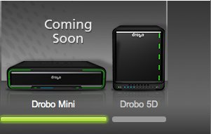 Drobo 5D und Drobo Mini: schnell dank SSD und Thunderbolt