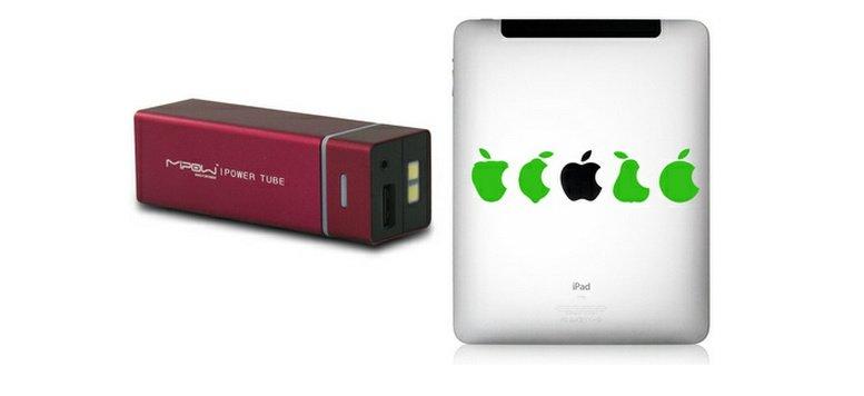 MiPow Power Tube und iPad-Sticker bei Fab.de im Angebot