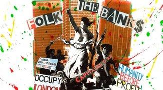 Occupy-Sampler kostenlos: 18 MP3s von Billy Bragg, Tom Morello, Chumbawumba, Ani DiFranco...