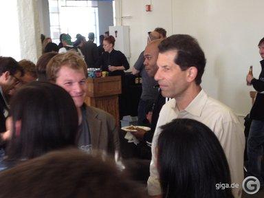 Jon Rubenstein auf der Scribd WWDC Bash Party