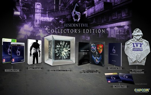 Resident Evil 6: Collector's Edition angekündigt