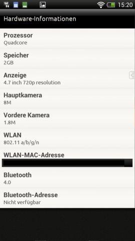 HTC one XXL Screenshot