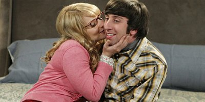 Howard und Bernadette in Staffel 4 von The Big Bang Theory