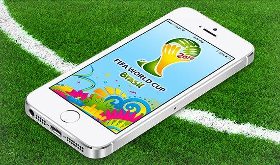 Die Top 5 iPhone-Apps zur Fußball-WM 2014