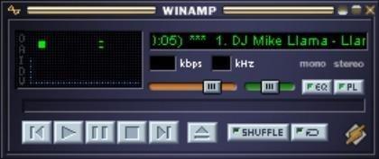 Winamp Lite Fenster