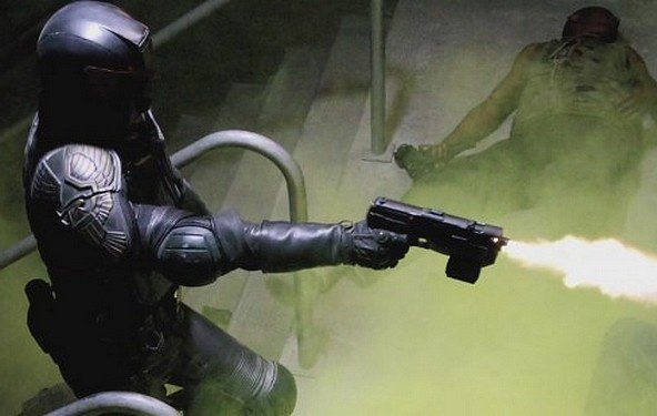 Dredd - der erste Trailer für Judge Dredd/ Versuch 2