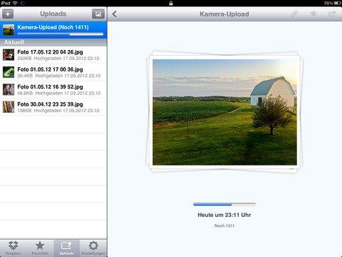 Dropbox: Update macht iOS-App zur Fotostream-Alternative
