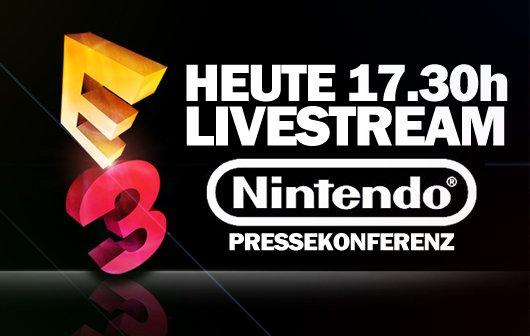 E3 2012: Nintendo Pressekonferenz im Live-Stream auf GIGA