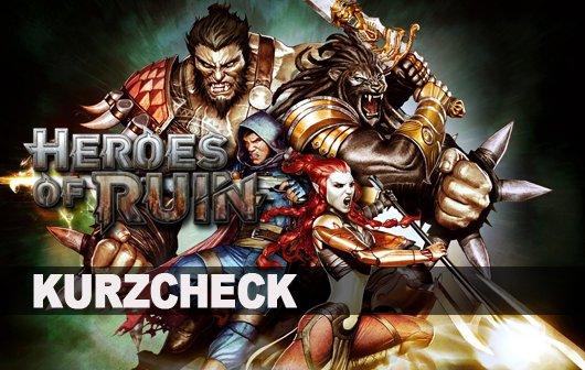 Heroes of Ruin Kurzcheck: Klein und fein ist anders