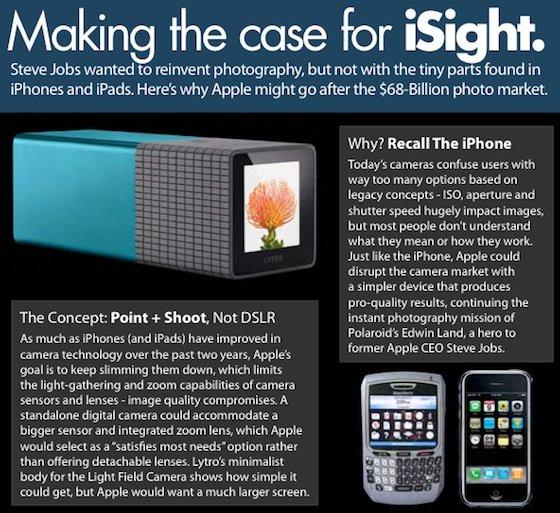 Spekulation: Plant Apple eine eigene Kamera?