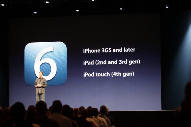 iOS 6: Welche Funktionen mit welchen Geräten funktionieren