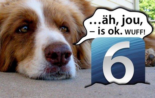 iOS 6 äh, jou, – is ok.