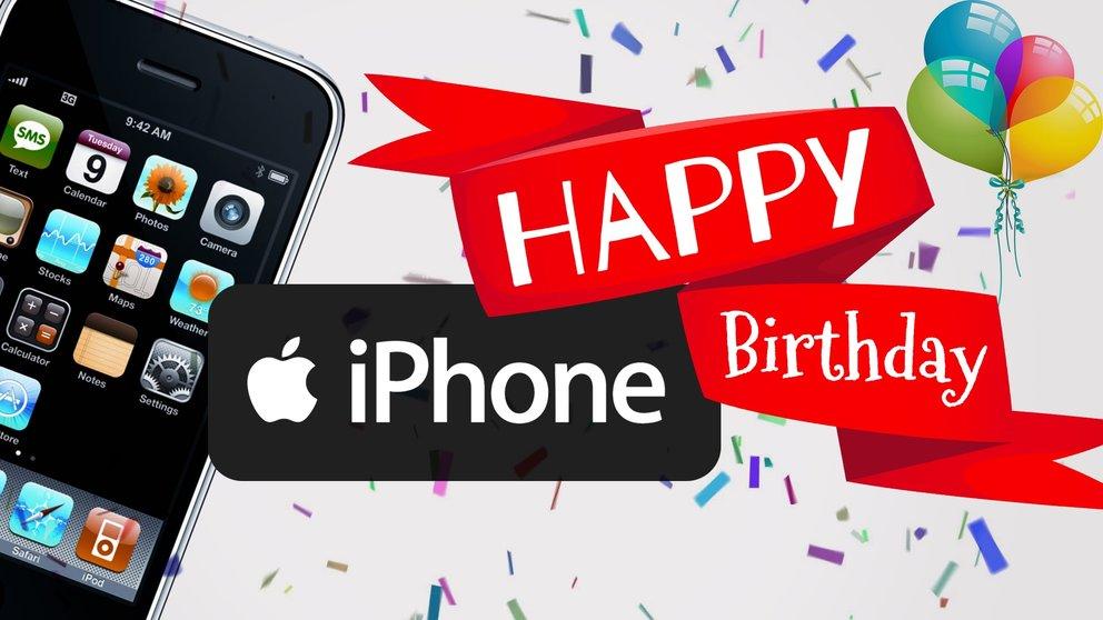 10 Jahre iPhone: Happy Birthday!