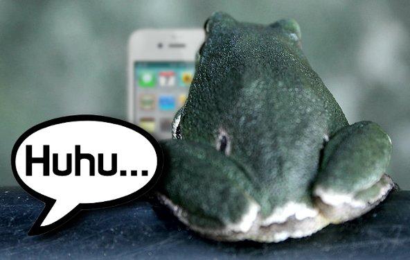 iPhone: Schau mich an, wenn ich mit dir rede!