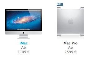 """Mac Pro 2012: """"Neue"""" Modelle online"""