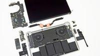 MacBook Pro mit Retina Display: Wartung ist fast unmöglich