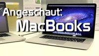 MacBook Pro Retina und Co: Händlermeinung und Kurzcheck (Video)