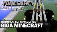 Minecraft Summer-Slam: Thema Musik
