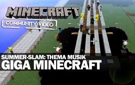 Minecraft Summer-Slam: Thema Musik