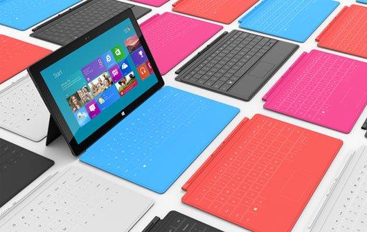 Surface - Microsoft stellt Tablets mit Windows 8 vor