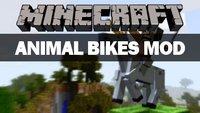 Minecraft Animal Bikes Mod