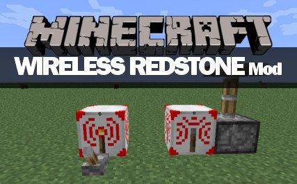 Minecraft Wireless Redstone Mod