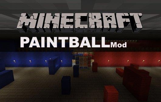 Minecraft Paintball Mod
