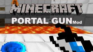 Minecraft Portal Gun Mod