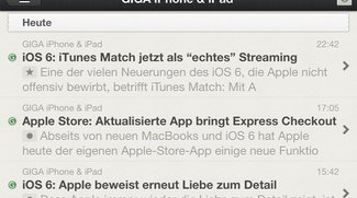 Reeder 3.0 fürs iPhone: RSS-Reader in neuer Version erschienen