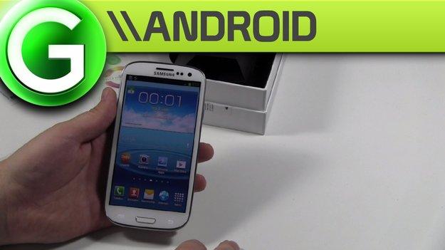Samsung Galaxy S3 Unboxing + Erste Eindrücke